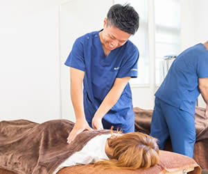 高崎市のただき接骨院の頭痛回復整体の写真
