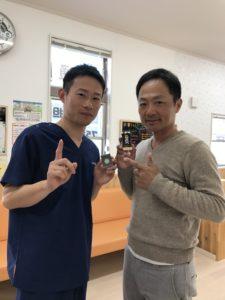 高崎市ヘルニア施術48歳男性の写真