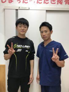 高崎市スポーツ障害17歳男性の写真
