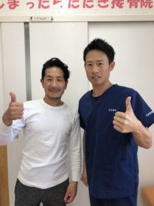 高崎市在住で全身コンディショニング45歳男性の写真