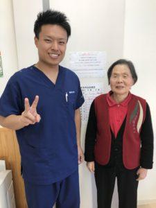 高崎市にお住いの肩こり施術78歳の写真