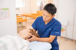 高崎市ただき接骨院の交通事故によるむち打ち症の施術写真