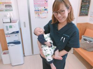 産後骨盤矯正はお子様と一緒に通えます。