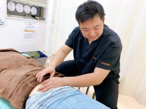 鍼灸施術の風景画像