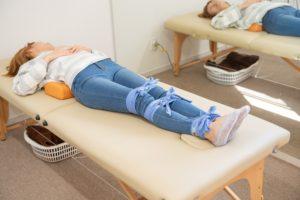 O脚矯正ひもしばり健康法の写真
