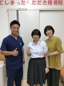 交通事故治療でお越の高崎市在住47歳女性の写真