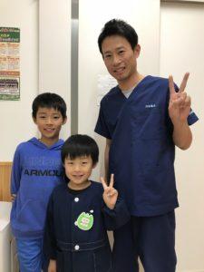 高崎市在住でスポーツの怪我9歳男子の写真