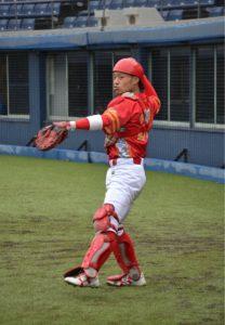 野球肘・野球肩をイメージした写真