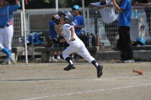 野球の練習をイメージした写真