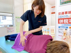 股関節痛の施術法